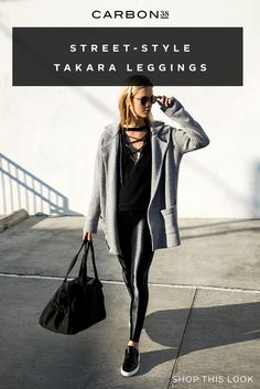 Our best-selling legging is the ultimate studio-to-street essential. Pair with a… – tennis shoe outfit winter Casual Winter Outfits, Outfit Winter, Tennis Shoes Outfit, Winter Leggings, Love T Shirt, Moto Jacket, Workout Wear, Autumn Winter Fashion, Cute Outfits