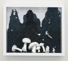Eckart Hahn, White, 2010, Objektkasten, 28 x 33 cm