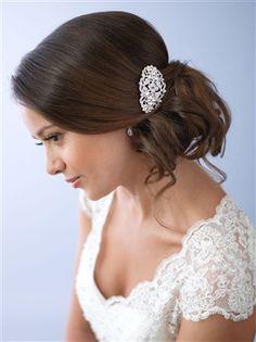 Vintage Rhinestone Bridal Comb