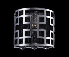Z-Lite 839ch-1s Mirach Collection 1 Light Crystal Vanity Light