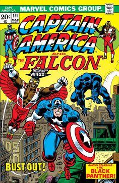 Captain America (1968) #171 cover by John Romita