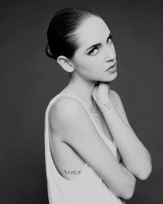 Black and white Paris portraits