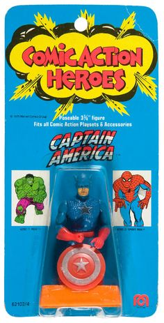 Mego Comic Action Heroes Captain America