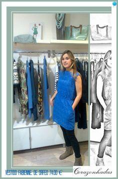 Vestido Fabienne de Orfeo en Corazonhadas www.corazonhadas.biz