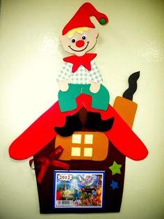 Προσχολική Παρεούλα : Χριστουγεννιάτικες κατασκευές ..