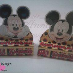 Anna Design Criativo - Caixa bis duplo personalizado Mickey 01