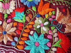 Mexican cotton embroidery by iva