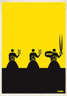 Design Free Thursday // WTF Posters. | yellowtrace blog »