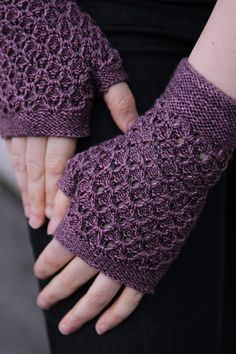 Stormcloud mitts by William Nelson