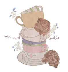 cup City of Dionne  #illustration