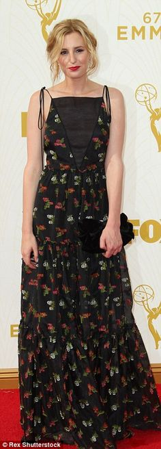 Mixing it up: Laura Carmichael, Ellie Kemper and Tracee Ellis Ross sported a variety of pa...