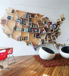 Bookshelf designed by Ron Arad
