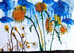 Sunflowers, 2015, Birgit Nagengast www.housegallery.de