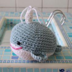 «Milène la baleine participe au concours ! #CrocheterSonDoudou #marieclaireidees #personalcreation #DIY#baleine#amigurumi #handmade #homemade…»