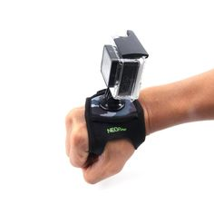 Amazon.com : NEOpine Neoprene Wrist/Hand/Glove Strap Mount for GoPro Hero 4/3+/3/2/1, GoPro HD, Gopro 4 Session and SJCAM Action Camera : Camera & Photo