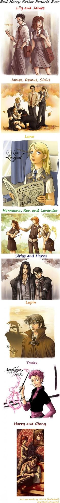 All of her work is amazeballs- and her rendition of Sirius? Beyond drool worthy.  http://hito76.deviantart.com/