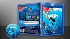 Procurando Dory (Blu-Ray 3D) - Capa | VITRINE - Galeria De Capas - Designer Covers Custom | Capas & Labels Customizados