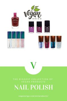 Vegan and cruelty free beauty and nail products.