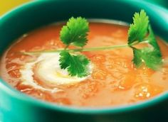 A light and fresh soup for summer or winter. It's #healthy, #nutritious and #lowfat! Check out the recipe here!