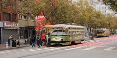 transporte em san francisco streetcar