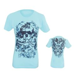 MMA Chick Flower Womens T-Shirts are 100% combed cotton jersey made t-shirts with 1*1 baby rib kit set in the color.