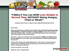 Have you tried to go on a diet to lose weight, to see that despite hunger and frustration, you can't lose weight? Trying to lose weight is hard and relentless effort. Are you hungry for days, hoping to lose a few pounds, to see themselves better than before.