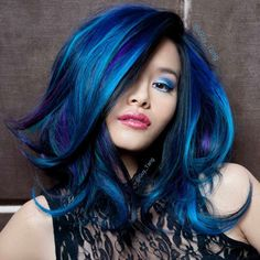 OH MY GOODNESS! I have always been afraid of blues, but I LOVE THIS!!! Guy Tang is amazing!
