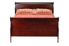 Louis King Sleigh Bed from Gardner-White Furniture