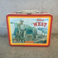 Early West Lunchbox – UrbanAmericana