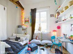Chambre d'enfants : chacun son style déco !