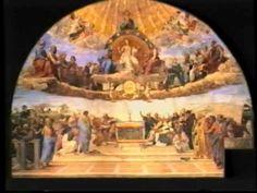 Raphael's Fresco of The Disputa Of The Vatican's Stanza Della Segnatura