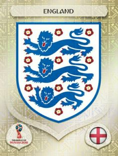 England 2018 World Cup Finals cards. Fifa Football, Football Icon, England World Cup 2018, America Album, Mens World Cup, 3 Lions, England Fans, Match Of The Day, Soccer Art
