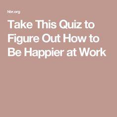 Take This Quiz to Fi