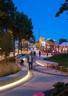Mid Main Park - Iluminação-Cores-Orgânico