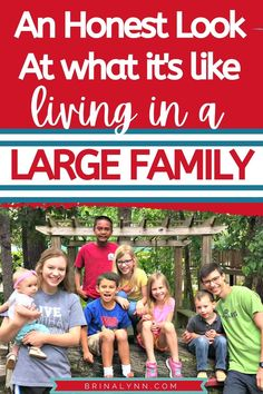 Take a peek inside large family living. Here's an honest look at what it's like inside these 4 walls. #largefamilyliving #families #christianfamilies #largefamilies