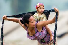 Mother and son by Hai Thinh, via 500px