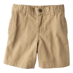 Circo® Infant Toddler Boys' Chino Shorts - Sandstone - 12mos