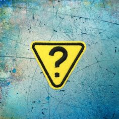 Question Symbol sign patches iron on monogram punk patches iron on patches