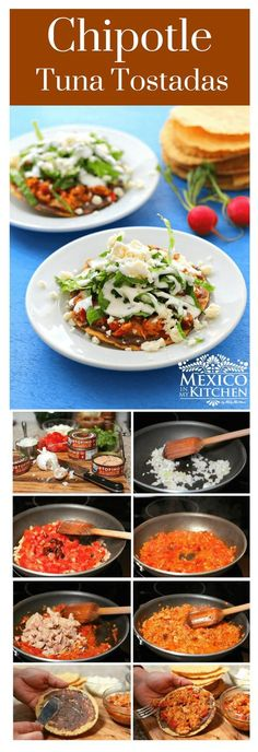 We'll be using this tuna to make some scrumptious Chipotle Tuna Tostadas that are easy to make and can be enjoyed for lunch or dinner.#mexicanrecipes #mexicancuisine #food #fish #homecook