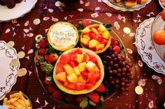 Disney Birthday Party ideas. DIY. Mickey Shaped Fruit Platter.