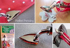 This mini iron gets into places easily where your standard iron doesn't.