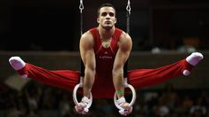 Danell Leyva Gymnastics  Leyva's mother and step-father were both noted gymnasts in Cuba, competing on the national team. Now, they run a gym in Miami, where Leyva immigrated as a child and currently trains. The world champion on the parallel bars, Leyva considers his best event to be the high bar.