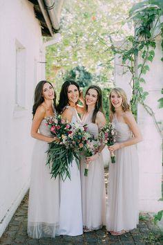 Soft Mauve Bridesmaids dresses are just dreamy! Wedding Groom, Wedding Suits, Maroon Suit, Bridesmaid Dresses, Wedding Dresses, Bridesmaids, Reception Areas, Beautiful Bride, Mauve