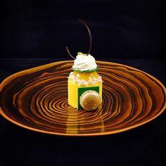 """Brazil"" Coconut Cremeux Mango Mousse Passion fruit Jelly Coconut Dacquoise  @valrhonausa @steeliteusa @dishdrama #valrhona  #Bachour #bachourchocolate #bachourchocolatebook #bachoursimplybeautiful #chocolate #theartofplating #chefstalk #chefsofinstagram #gastroart #antoniobachour #bachour1234 by bachour1234"