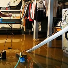 It's an all too familiar scenario for homeowners in the northeastern United States: In the midst of a pouring rainstorm, the sump pump fails and the basement fills with water. What do you do when your basement has turned into a swimming pool?