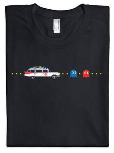Pacman vs Ghostbuster