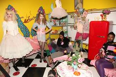 What it would be like to work for Betsey....one can dream.
