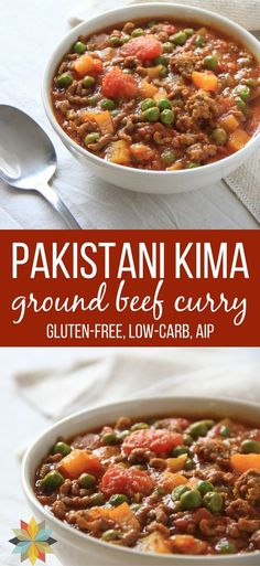 This Pakistani Kima (ground beef curry) is gluten-free, dairy-free, and kid-friendly with low carb, paleo, AIP, and vegan options - plus it's full of nourishing real food ingredients. It's my most requested recipe ever!