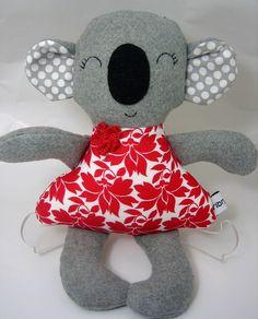 Scalet Koala Softie - by Ribryba on madeit