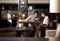 Pacific Club Lounge at Pan Pacific Nirwana Bali Resort - chic interior